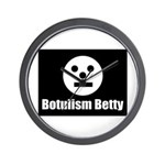 Botulism Betty Wall Clock