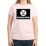 Botulism Betty Women's Pink T-Shirt