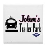 Jolene's Trailer Park Retro Tile Coaster
