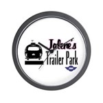 Jolene's Trailer Park Retro Wall Clock