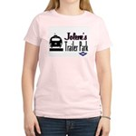 Jolene's Trailer Park Retro Women's Pink T-Shirt