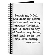 Psalm 139:23-24 Journal