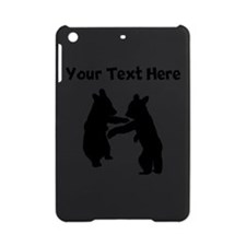 Bear Cubs Silhouette iPad Mini Case