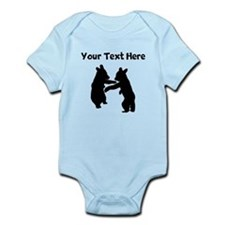 Bear Cubs Silhouette Body Suit