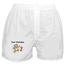 Custom Jump Bear Boxer Shorts