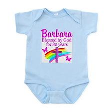 LOVELY 80TH Infant Bodysuit