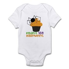 1st Halloween (spider) Infant Bodysuit