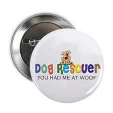 Dog Rescuer Button
