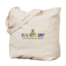 Dog Rescuer Tote Bag