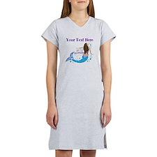 Just Keep Swimming Mermaid Women's Nightshirt