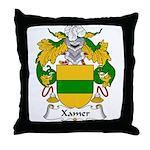 Xamer Family Crest Throw Pillow