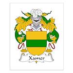 Xamer Family Crest Small Poster