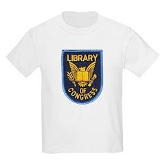 Library of Congress Kids Light T-Shirt