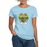 Vivar Family Crest Women's Light T-Shirt