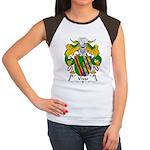 Vivar Family Crest Women's Cap Sleeve T-Shirt