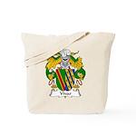 Vivar Family Crest Tote Bag
