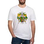 Vivar Family Crest Fitted T-Shirt