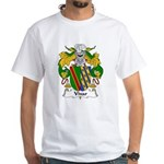Vivar Family Crest White T-Shirt
