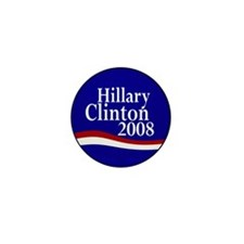 Hillary Clinton 2008 Mini Button