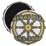 Harbor Pizza Magnet