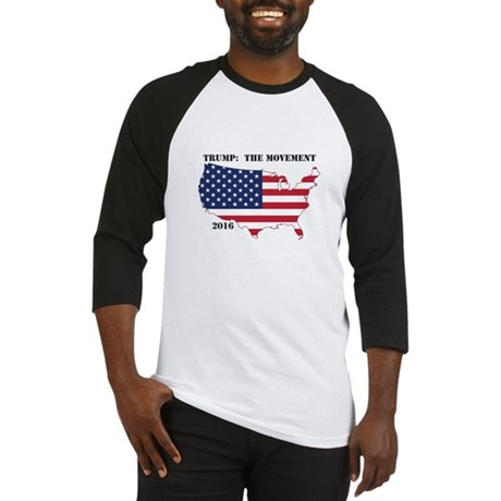 2016 Election TRUMP THE MOVEMENT Baseball Jersey
