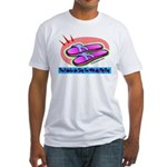 Slap Flip Flop Fitted T-Shirt