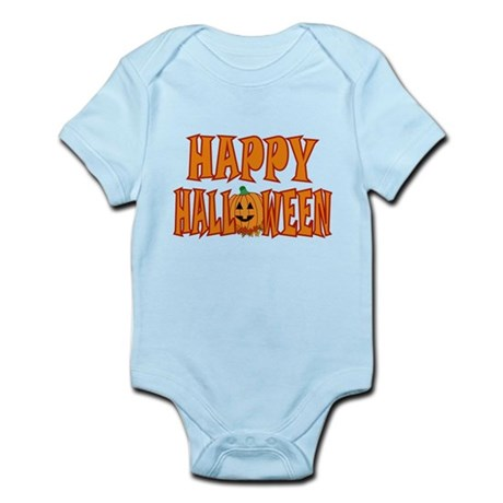 Pumpkin Happy Halloween Infant Bodysuit