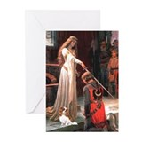 Princess &amp; Cavalier Greeting Cards (Pk of 20)