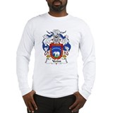 Verdu Family Crest Long Sleeve T-Shirt