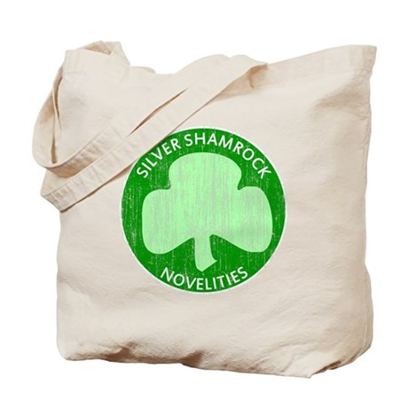 Silver Shamrock Tote Bag