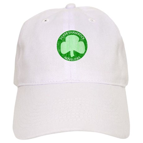 Silver Shamrock Cap