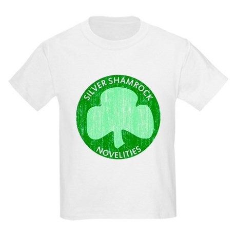 Silver Shamrock Kids Light T-Shirt