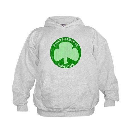 Silver Shamrock Kids Hoodie