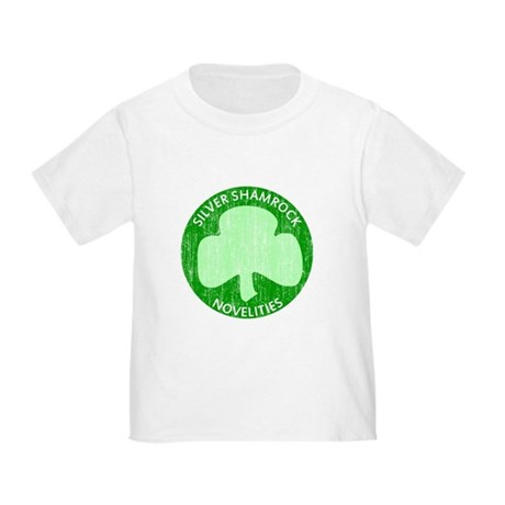 Silver Shamrock Toddler T-Shirt