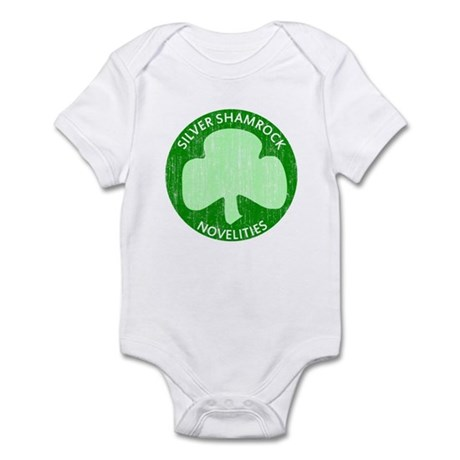 Silver Shamrock Infant Bodysuit