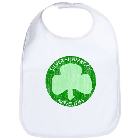 Silver Shamrock Bib