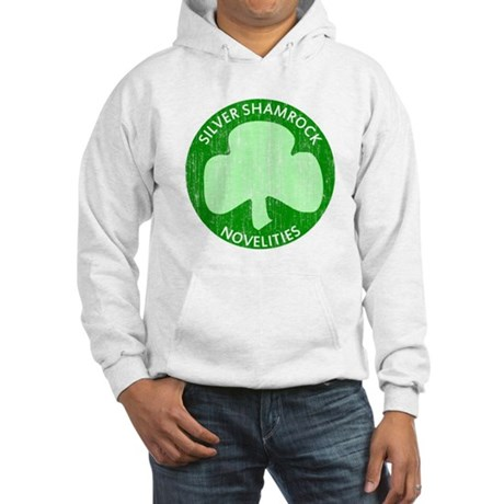 Silver Shamrock Hooded Sweatshirt