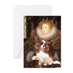 The Queen's Cavaliler Greeting Cards (Pk of 20)