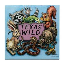 Cute Mess with texas Tile Coaster