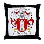 Torralba Family Crest Throw Pillow