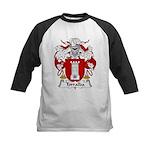 Torralba Family Crest Kids Baseball Jersey