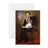 Lincoln's Cavalier Greeting Cards (Pk of 20)