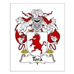 Tora Family Crest Small Poster