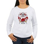 Tamayo Family Crest Women's Long Sleeve T-Shirt