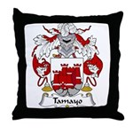 Tamayo Family Crest Throw Pillow