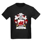 Tamayo Family Crest Kids Dark T-Shirt
