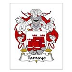 Tamayo Family Crest Small Poster