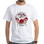 Tamayo Family Crest White T-Shirt