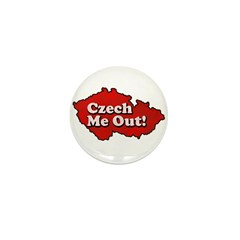 Czech Me Out! Mini Button