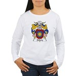 Solana Family Crest Women's Long Sleeve T-Shirt